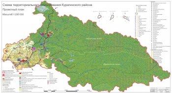 Проект Схемы  территориального планирования Курагинского района