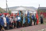 """9 мая 2018 состоялась акция """"Бессмертный полк"""".  Более 300 курагинцев приняли участие в данном мероприятии."""
