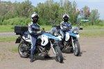 В Курагинском районе появились сотрудники мотогруппы ДПС специального назначения